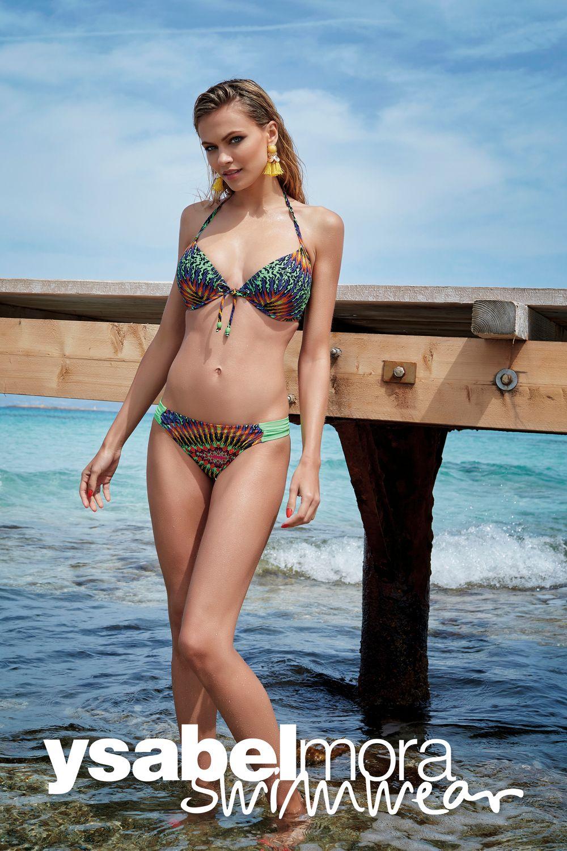 0abf3b95ce23 Bikini aros copa B, Isabel Mora con cierre de broche espalda